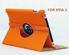 2012 Wholesale PU cover for ipad 3