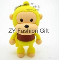 Hot selling monkey USB flash drive (8G)