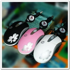 HP flower mouse