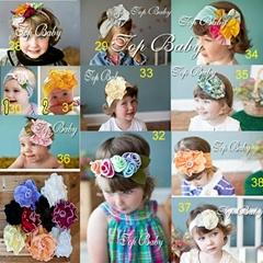 top baby  headflower  for children