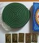 Green Mosquito Coil Incense