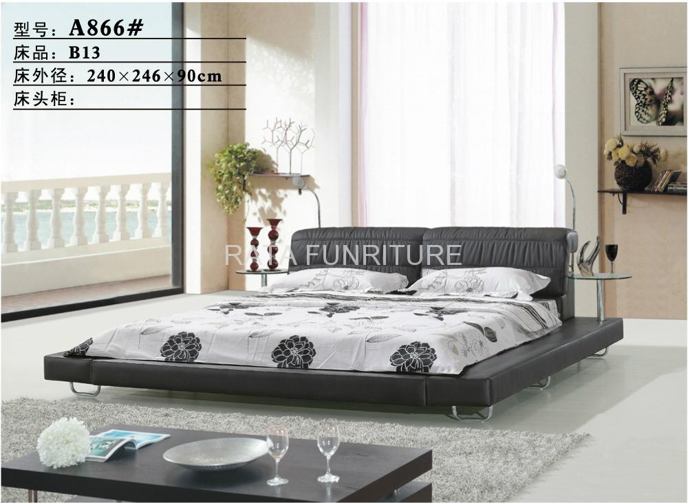 2012 new design convenient tomenta king bed - 2012 A911