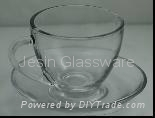 Jesin Glass tea set