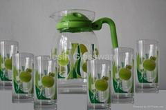 Jesin Glass Tea Set