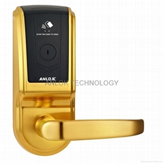 Hotel Lock with US standtard mortise, anti-violence.