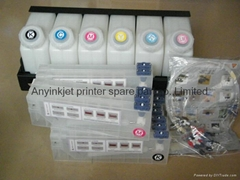 bulk ink system for Roland/Mimaki/Mutoh (6 tank+ 12 cartridge)
