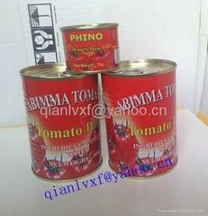 400g番茄酱罐头