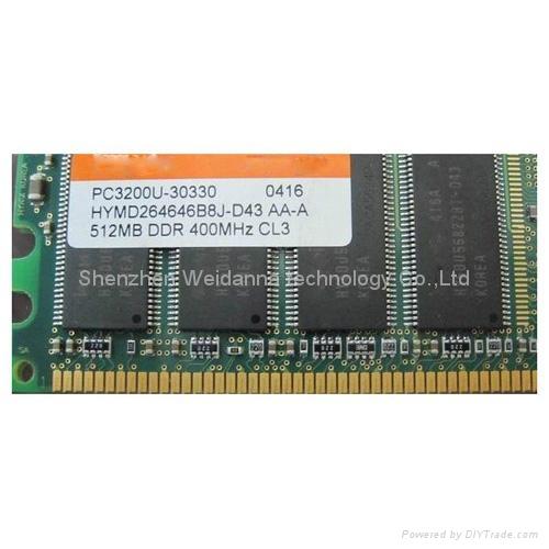 DDR 400MHZ-PC3200 184PIN Long-DIMM Ram Memory 1
