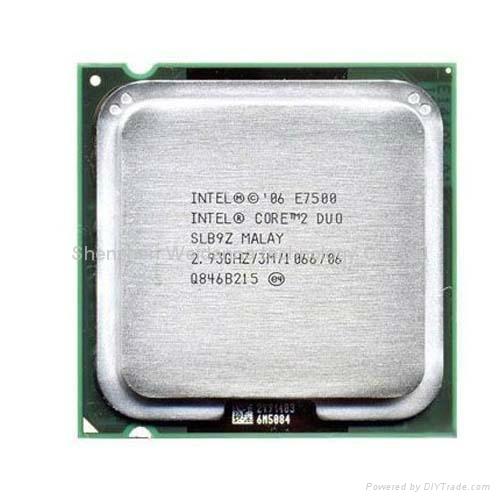 Intel Core 2 Duo E7500 2.93GHz L2 3MB Cache Processor 1