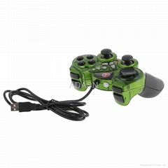 USB Double Shock Game Controller for PC
