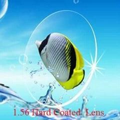 index 1.56  Optical resin Lenses (HC, hard coated )