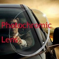 index 1.56 photochromic eyewear resin Lenses