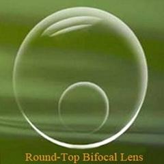 CR39 1.49 Round-Top Bifocal Resin Lens