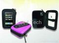Stereo speaker bag for Iphone
