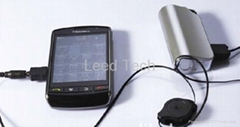 portable universal charger compatible with mobile phone ipod PSP