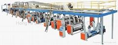 corrugated carton making production line