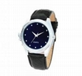 4GB Wrist Watch Hidden Spy Camera with leather Band ( Mini DV)