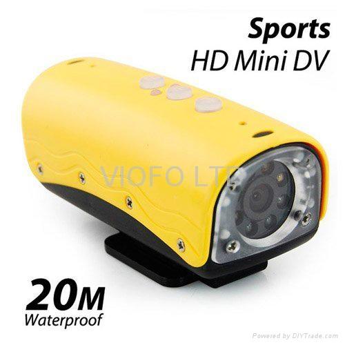 RD32 HD 720P 30fps Waterproof Sport Action Camera 1