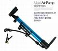 B7 Bicycles Folding Mini portable pump equipment