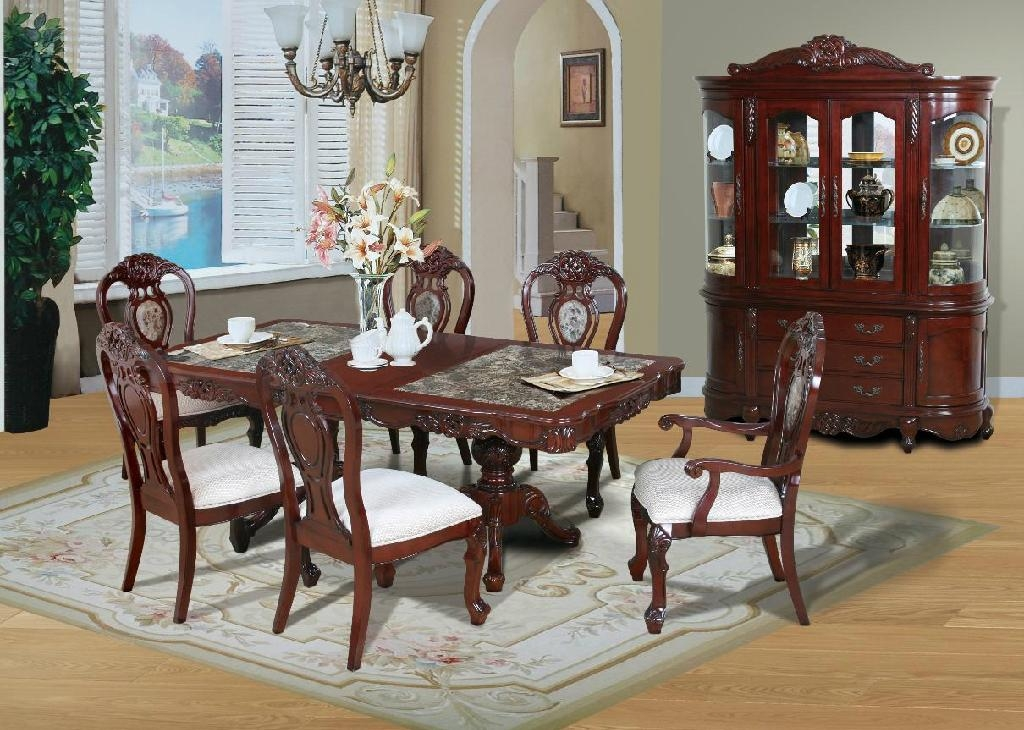 Luxury Solid Wood Diningroom Set Ds 1 Eif China