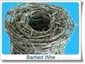 Ga  anized Barbed Iron Wire