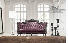 neoclassic furniture / antique solid wood bedroom set