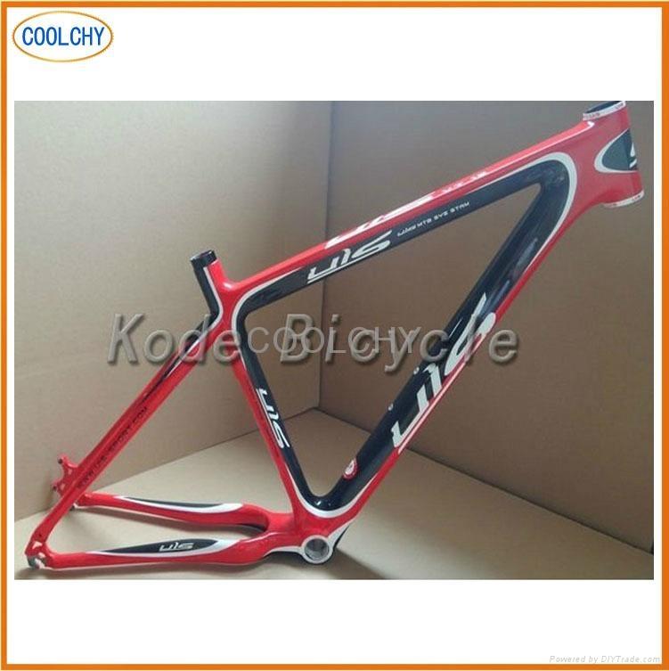 Full Carbon Fibre Mountain Bike Frame 1