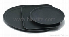 Super Fiberglass Non-slip Hotel and Restaurant Fast Food Tray in high quality