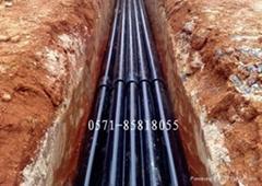 內外塗環氧復合鋼管(電纜專用)