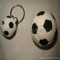 足球钥匙扣