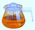 Glass tea&coffee pot in 700ml
