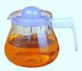 Glass tea&coffee pot in 700ml 1
