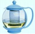 Glass tea&coffee pot