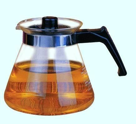 Glass tea&coffee pot 600ml 1