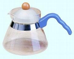 玻璃茶壶和咖啡壶450毫升
