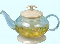 玻璃茶壶和咖啡壶