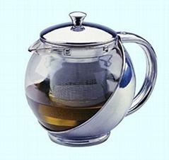 不锈钢茶壶和咖啡壶