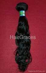 100% pure Virgin Brazilian hair Natural curl