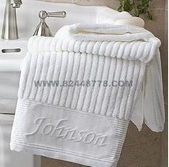 酒店宾馆纯棉毛巾浴巾