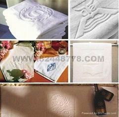 酒店客房毛巾