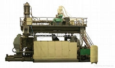 1000 litter IBC container blow molding machine-six layer oi tank