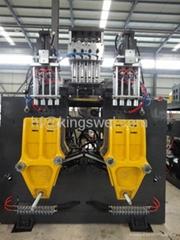 3.5L automatic blow molding machine-double station 4head