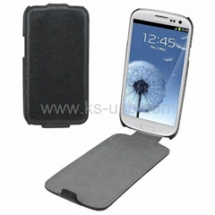 High Quality Snakeskin Texture Leather Case for Samsung Galaxy SIII i9300