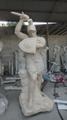 西方武士雕像