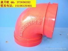 內外塗塑鋼管廠家直銷/消防管DN80