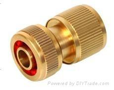 Garden hose brass fitting