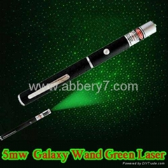 5mw Green Galaxy Laser Pointer Galaxy Wand Laser Pointers Star Projecting