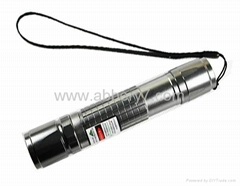Powerful 200mW Focusable Green Laser Pointer Flashlight Burning Laser Torch