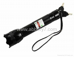 200mW green laser Laser flashlight with working time over 5000 hours