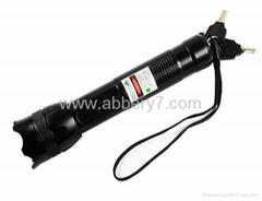 200mW green laser Laser flashlight with